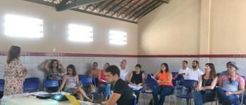 Educação de Lagoa da Canoa discute alinhamento e regimento interno para os próximos três anos