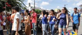 Prefeitura de Lagoa da Canoa Realiza Ação de Incentivo aos Alunos que Foram Prestar o ENEM - 2017