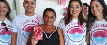 O NASF realiza o fechamento das ações de mês do Outubro Rosa