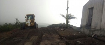 Prefeitura de Lagoa da Canoa intensifica trabalhos no Morro Santo palco da Paixão de Cristo