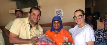 Mais de 800 famílias canoenses recebem cestas básicas e garantem mesa farta no Natal