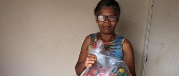 Canoa Solidária: município entrega cestas básicas para usuárias cadastradas