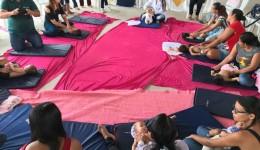 Nutrizes participam de atividades em alusão a Campanha Agosto Dourado