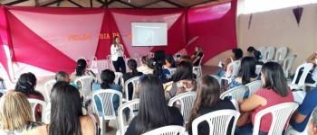 Violência Contra a Mulher é tema de palestra ministrada em Lagoa da Canoa