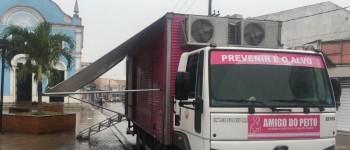 Caminhão Amigo do Peito  estaciona mais uma vez em Lagoa da Canoa