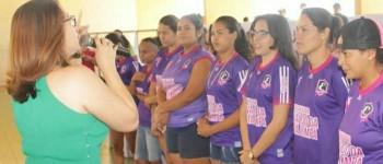 Alunos de escola da Mata Limpa disputam primeira edição dos Jogos Internos