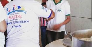PSF visita escola e leva informações sobre saúde e vida saudável